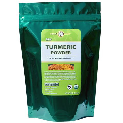 Turmeric Powder - 8 ounce by Moringa Source