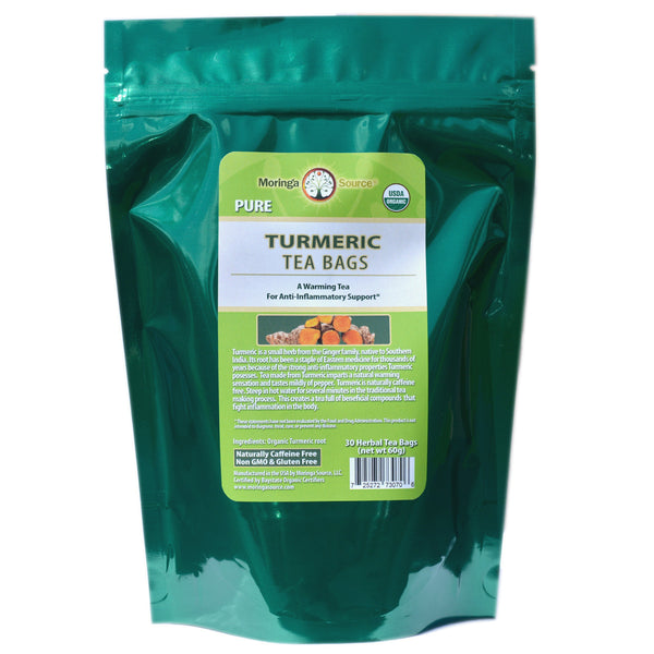 Turmeric Tea - 30 count by Moringa Source
