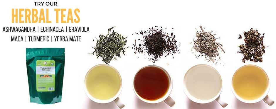 Superfood teas for the discerning taste