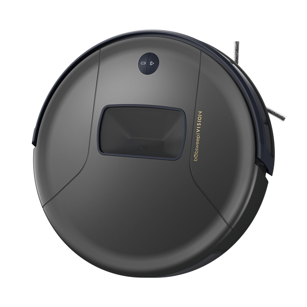 Bob PetHair Vision Robotic Vacuum Cleaner in space angled