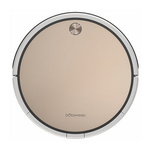 Bob Pro Robotic Vacuum Cleaner in gold