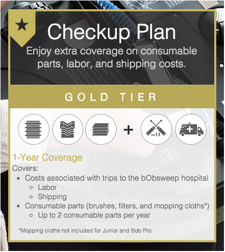 Checkup Plan gold tier