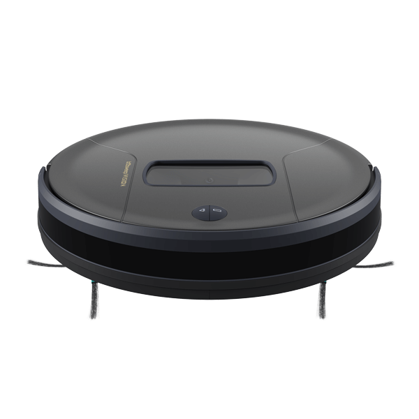 Bob PetHair Vision Robotic Vacuum Cleaner in space front view