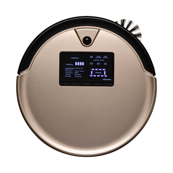 Bob PetHair Plus Robotic Vacuum Cleaner and Mop in champagne