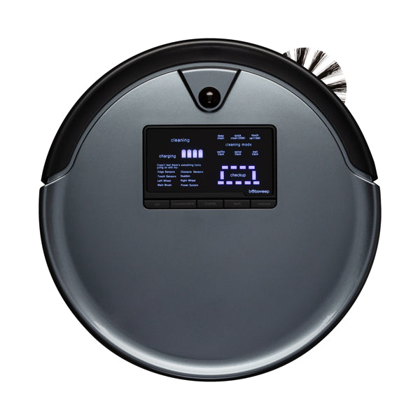 Bob PetHair Plus Robotic Vacuum Cleaner and Mop in charcoal