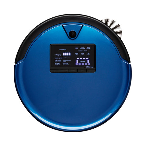 Bob PetHair Plus Robotic Vacuum Cleaner and Mop in cobalt