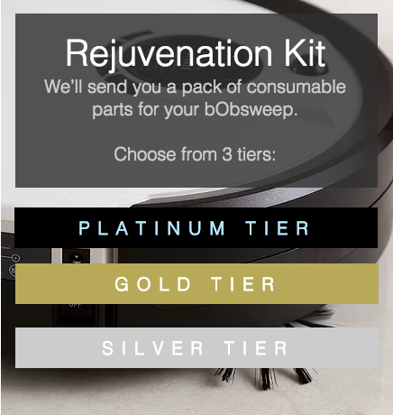Rejuvenation Kit tiers
