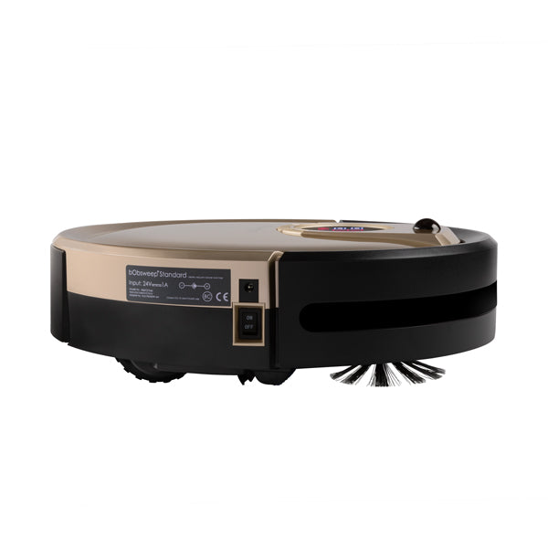 Bob Standard Robotic Vacuum Cleaner and Mop in champagne side view