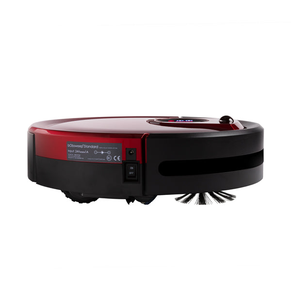 Bob Standard Robotic Vacuum Cleaner and Mop in rouge side view