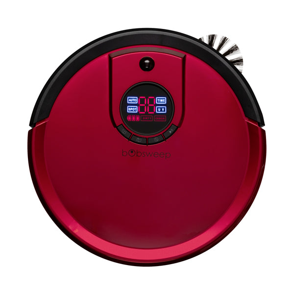 Bob Standard Robotic Vacuum Cleaner and Mop in rouge