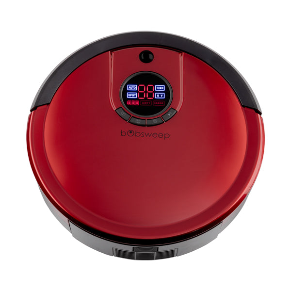 Bob Standard Robotic Vacuum Cleaner and Mop in rouge top view