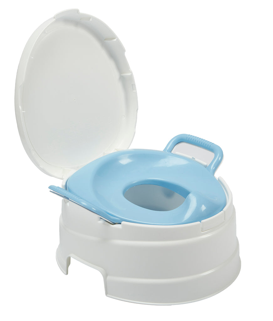 4-in-1 Complete Toilet Trainer and Step Stool