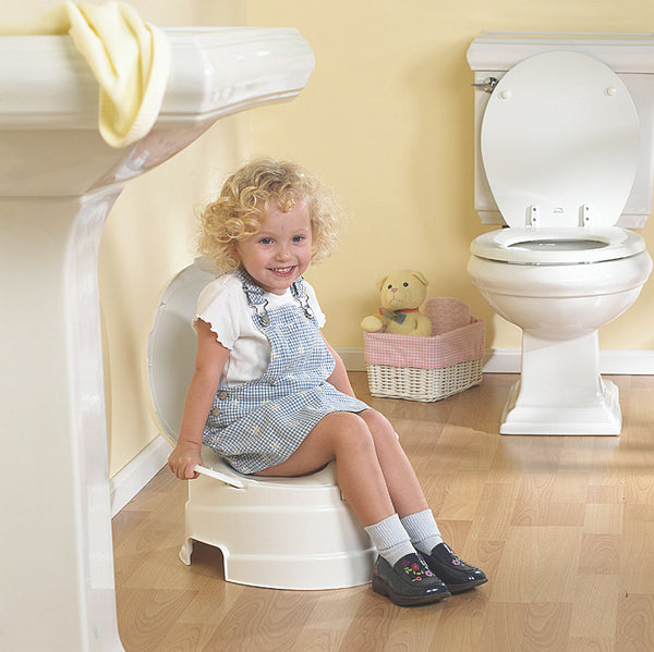 4-in-1 Toilet Trainer - Potty & Step Stool Set