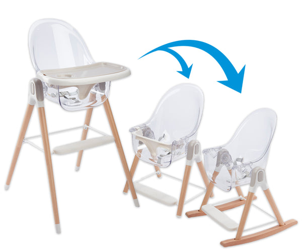 PRIMO Vista 3-in-1 High Chair, Toddler Chair, and Rocker