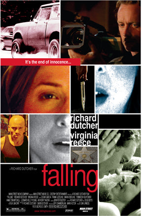 FALLING Signed Movie Poster