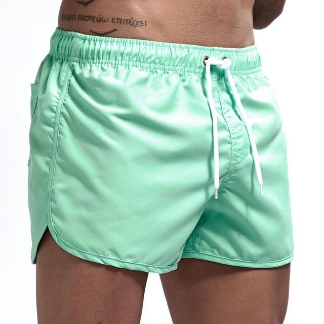 Jockmail Classic Mint Green Swim Shorts