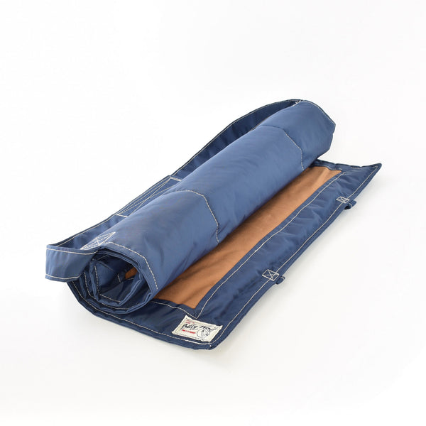 Billy Wolf Gunnar Navy Canvas Travel Dog Mat