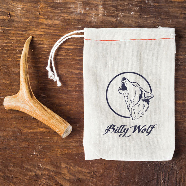 Billy Wolf Naturally Shed Antler Dog Chew