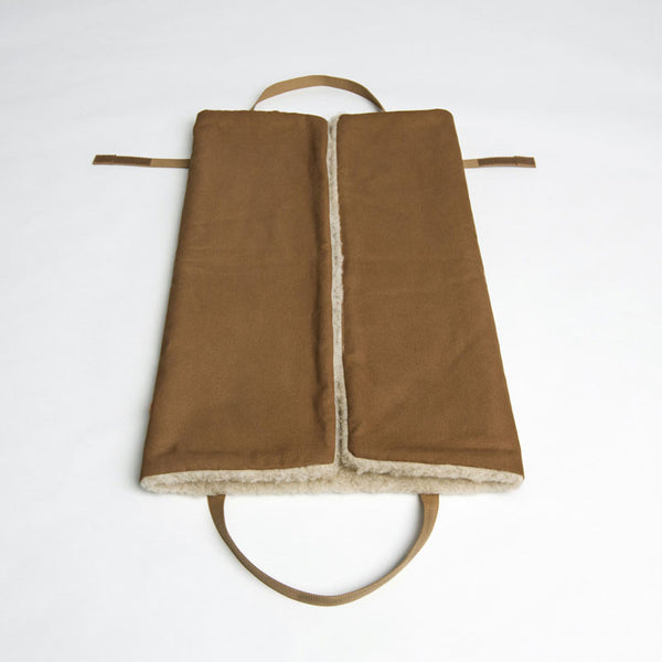 Cloud7 Hazelnut Canvas and Wool Travel Dog Bed