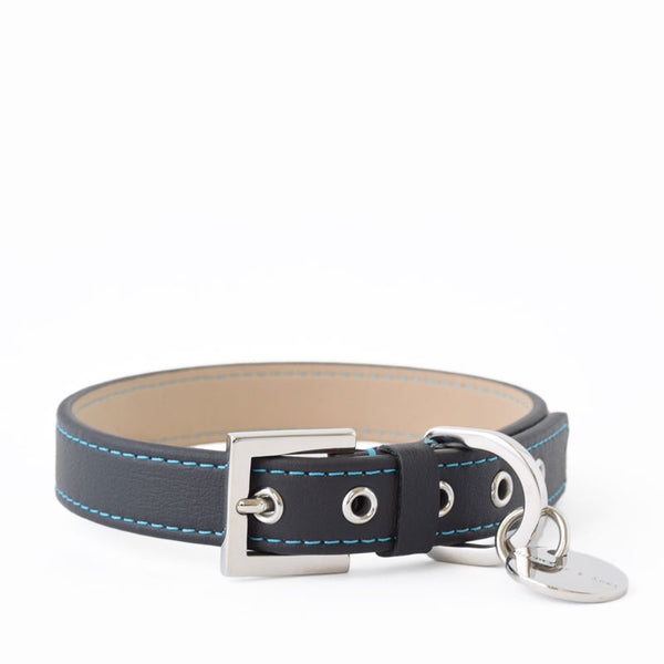 Hennessy and Sons All-Weather Nottingham Sailor Collar with Blue Stitching