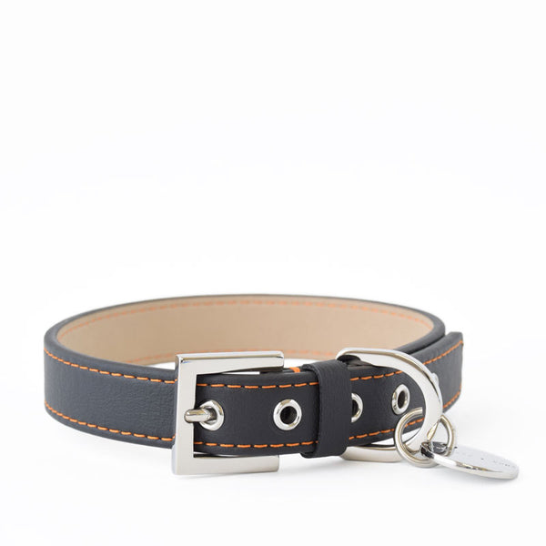 Hennessy and Sons All-Weather Nottingham Sailor Collar with Orange Stitching