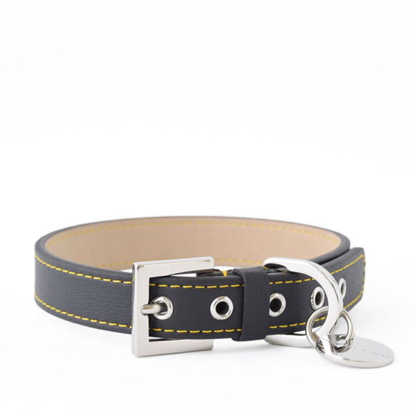 Hennessy and Sons All-Weather Nottingham Sailor Collar with Yellow Stitching