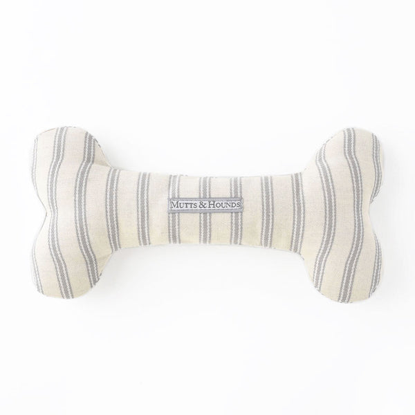 Mist Organic Ticking Squeaky Bone Toy