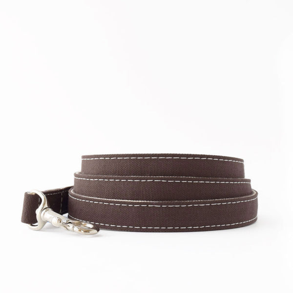 Wagwear Brown Boat Canvas Leash