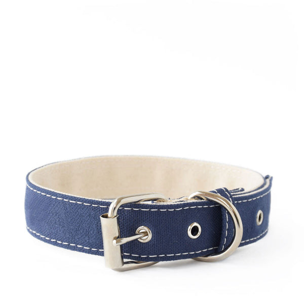 Navy Boat Canvas Collar