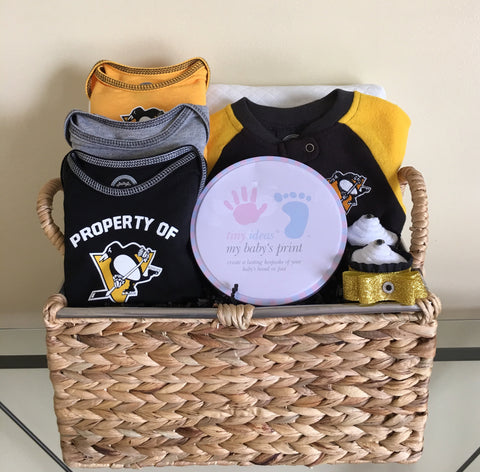 Penguins Gift Basket