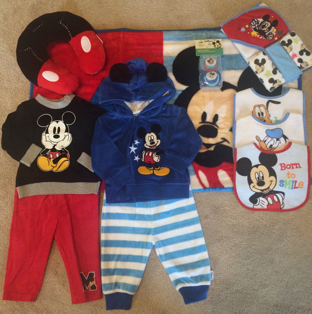 Mickey Mouse and Friends Boy Gift Basket