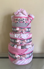 Jungle Safari Elephant Diaper Cake