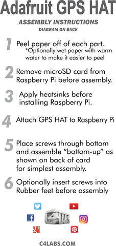 Adafruit GPS HAT