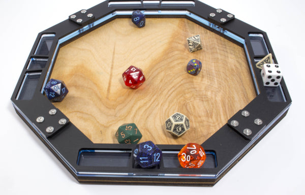 Wooden Dice Tray, Gaming  ~ C4Labs