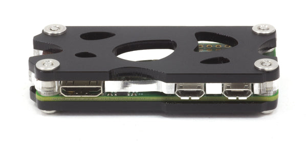 Nucleus Zero for Raspberry Pi Zero & Zero Wireless - Black Ice