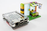 Zebra Build-A-Pi for Raspberry Pi 3, Pi2, B+ ~ LEGO Compatible Upgrade Kit