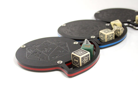 Dice Coasters ~ 9 colors and 3 styles to Choose ~ C4Labs