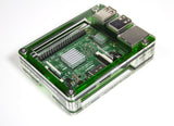 Zebra Evergreen Case ~ for Raspberry Pi 3, Pi 2, Pi B+ and Pi 2B