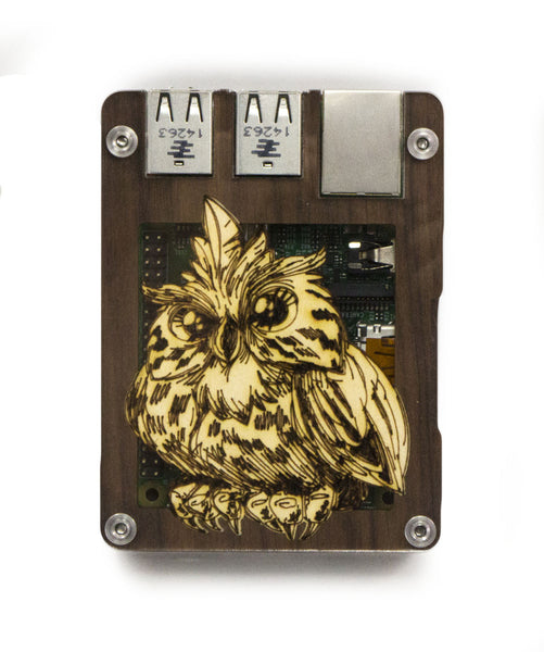 Zebra Archimedes ~ for Raspberry Pi 3, Pi 2 and Pi B+ (Solid Top)
