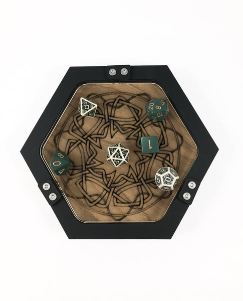 Mini Celtic Knot Dice Tray ~ by C4labs