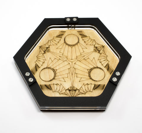 Art Deco Mini Dice Tray ~ by C4Labs Perfect for Table Top Gamers