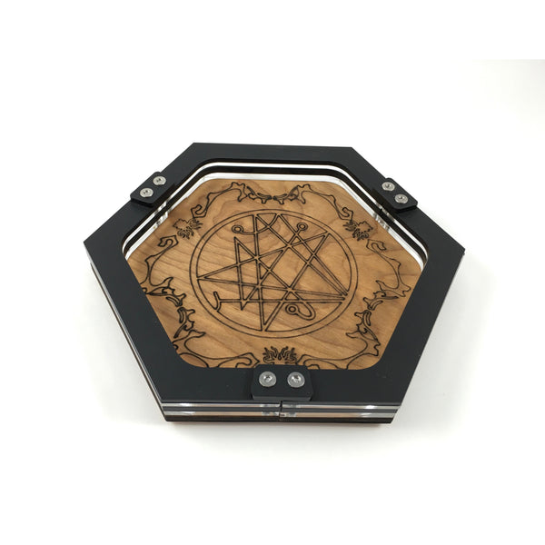 Mini Eldritch Dice Tray ~ by C4labs