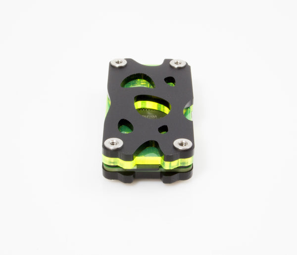 Nucleus Zero Case for Raspberry Pi Zero & Zero Wireless - Laser Lime