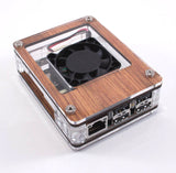 ASUS Tinker Board CASE with Fan in Black Ice or Wood