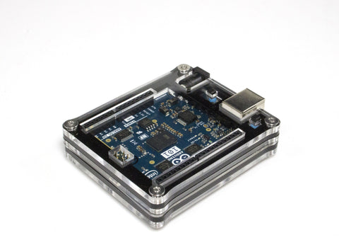 Zebra Black Ice Case for Official Intel Arduino 101