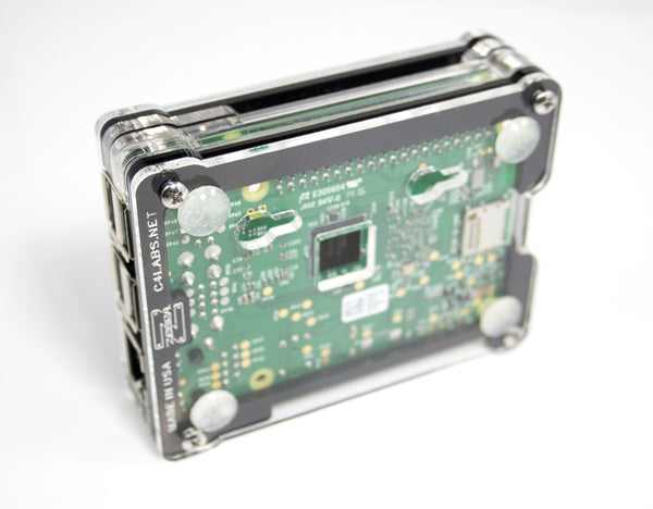 Zebra BOLD Black Ice ~ for Raspberry Pi 3, Pi 2, PiB+ and Pi 2B