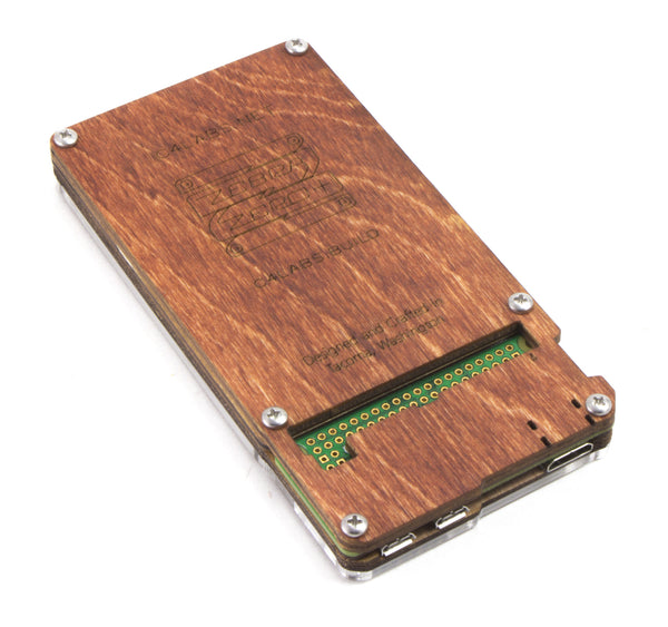 Zebra Zero Plus Breadboard in Wood for Raspberry Pi Zero 1.3 & Zero Wireless