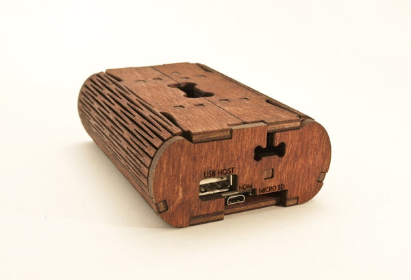 Flex Case for Beagle Bone Black (Wood) for Pi 3, Pi 2