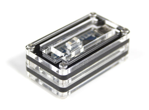Arduino Nano Zebra Black Ice Case