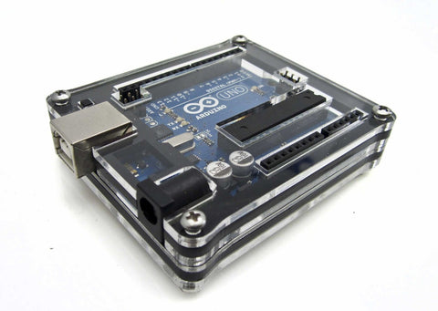Arduino Uno Zebra Case (Black Ice)